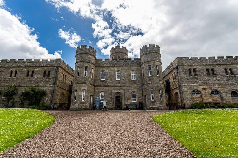 Jedburgh Castle Scottish Borders highlights travel Rabbies