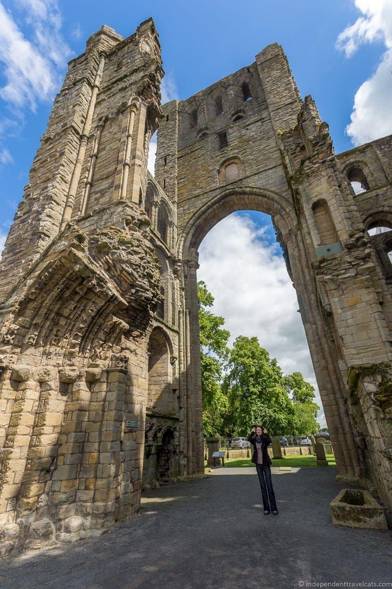 Kelso Abbey Scottish Borders highlights travel Rabbies