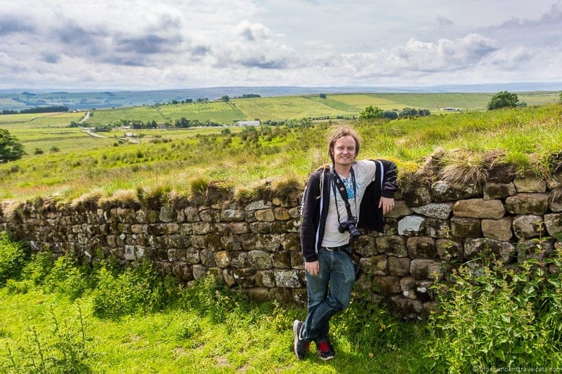 Hadrian's Wall Scottish Borders highlights travel Rabbies