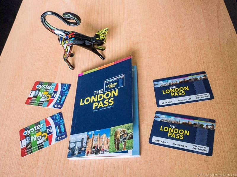 London Pass and Oyster Cards