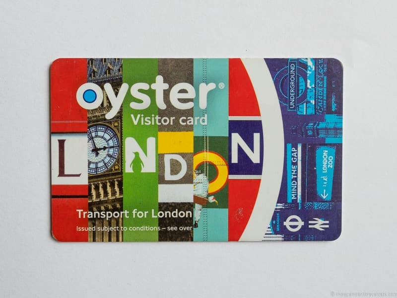 Visitor Oyster Card London