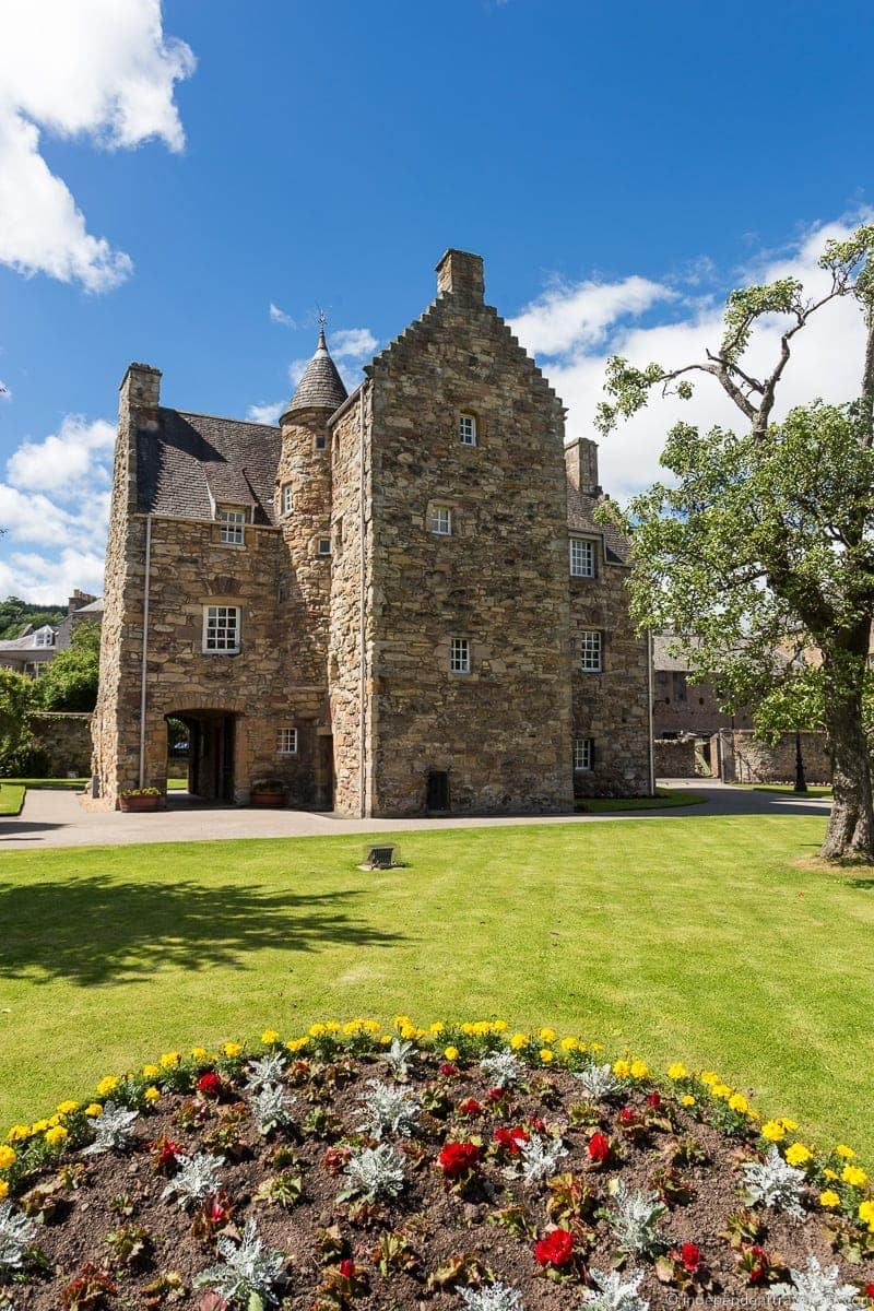 Mary Queen of Scots house Scottish Borders highlights travel Rabbies