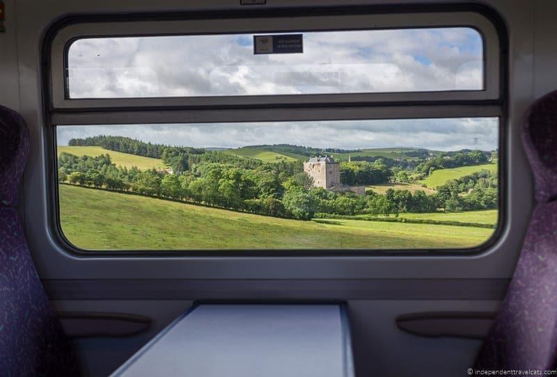 ScotRail Borders Railway Scottish Borders highlights travel Rabbies