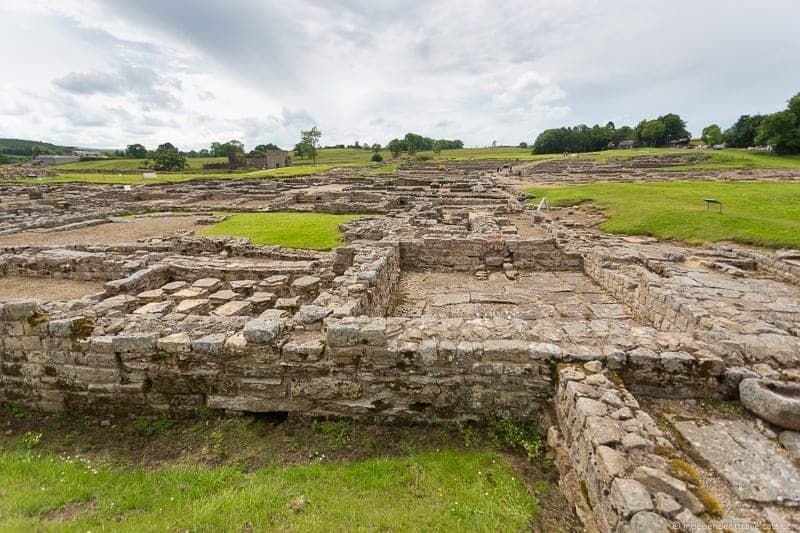 Vindolanda Scottish Borders highlights travel Rabbies