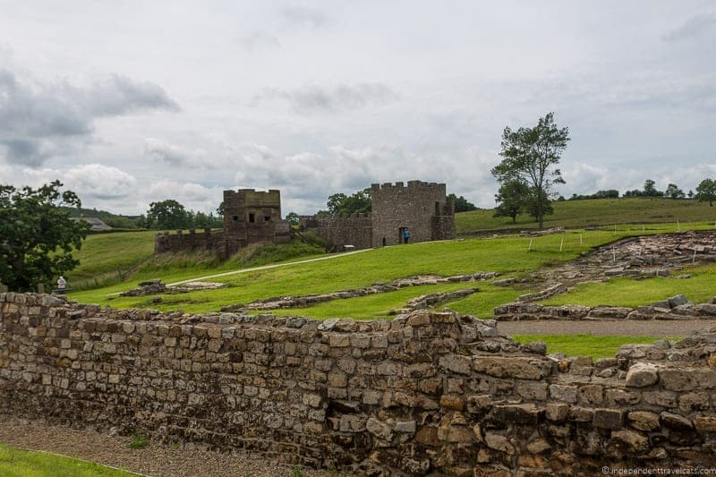 Vindolanda Roman fort Scottish Borders highlights travel Rabbies