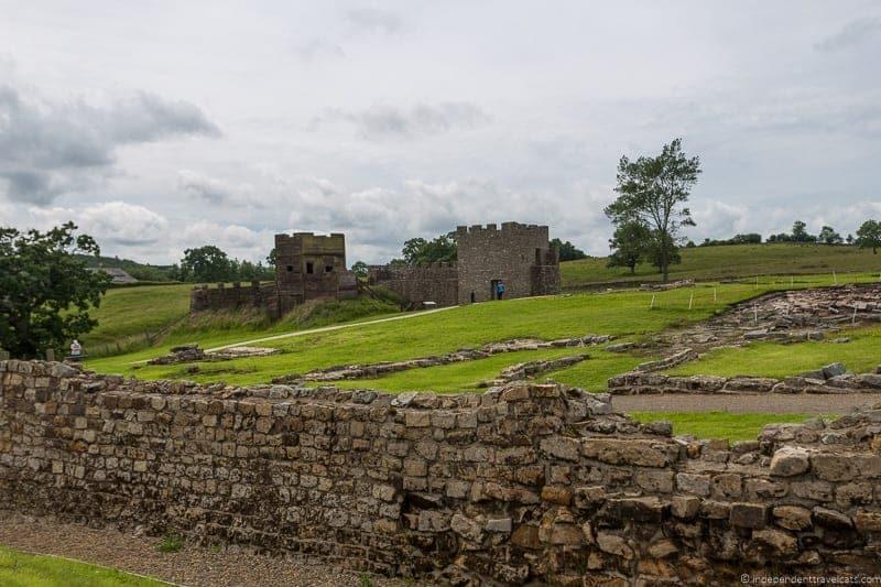 Vindolanda Roman fort Scottish Borders highlights travel Rabbies