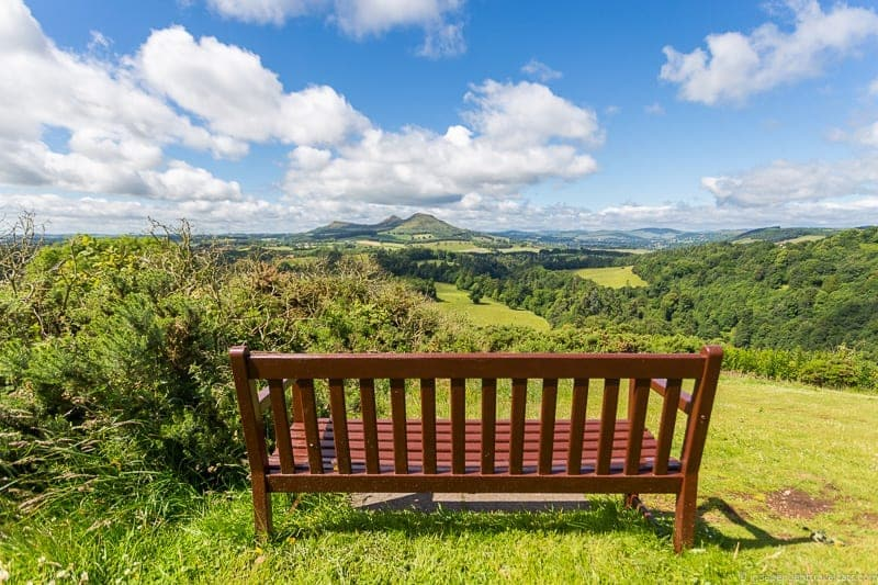 Scott's View Scottish Borders highlights travel Rabbies