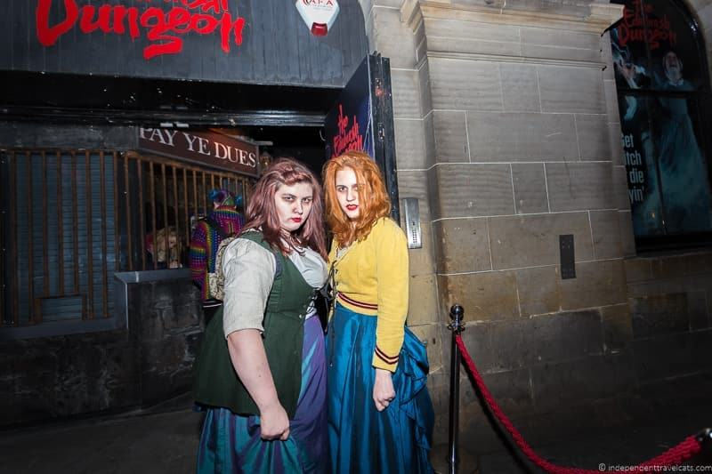 Edinburgh Dungeon top things to do in Edinburgh highlights