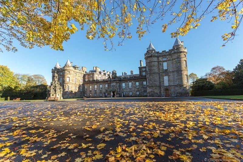 Palace of Holyrood House top 21 things to do in Edinburgh Scotland