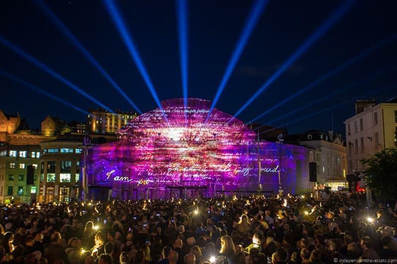 Edinburgh festivals in Edinburgh in August guide tips