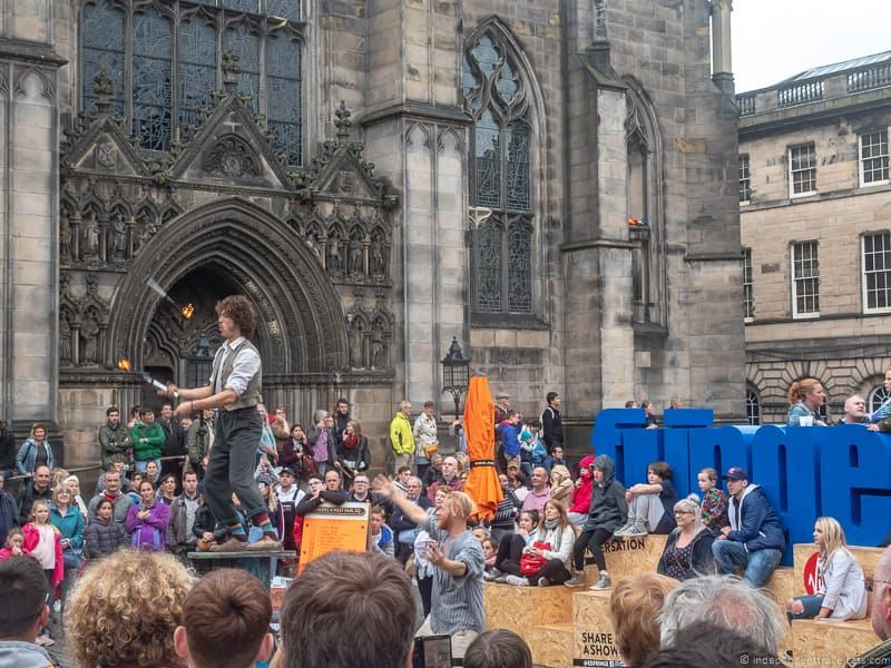 Fringe Festival Edinburgh festivals in Edinburgh in August guide tips