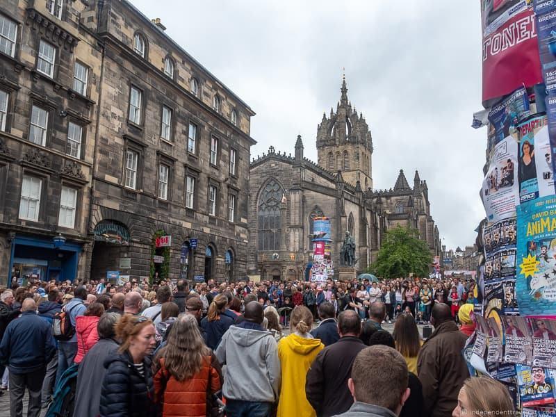 Fringe Festival Edinburgh festivals in Edinburgh in August guide tips