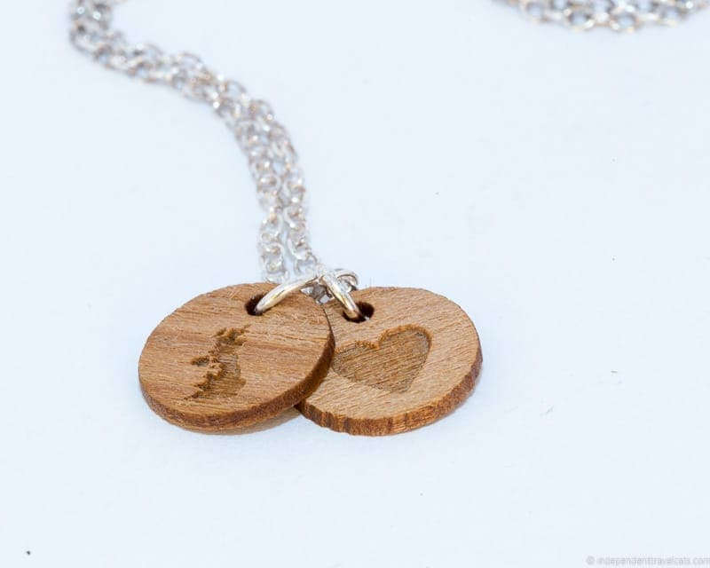 British Isles necklace travel jewelry traveling inspried jewellery