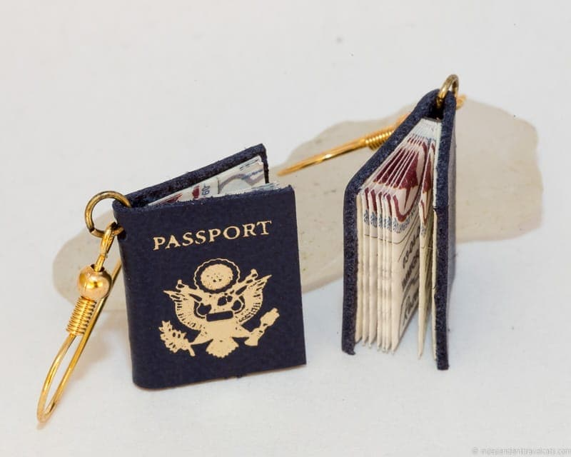 passport travel jewelry traveling inspried jewellery