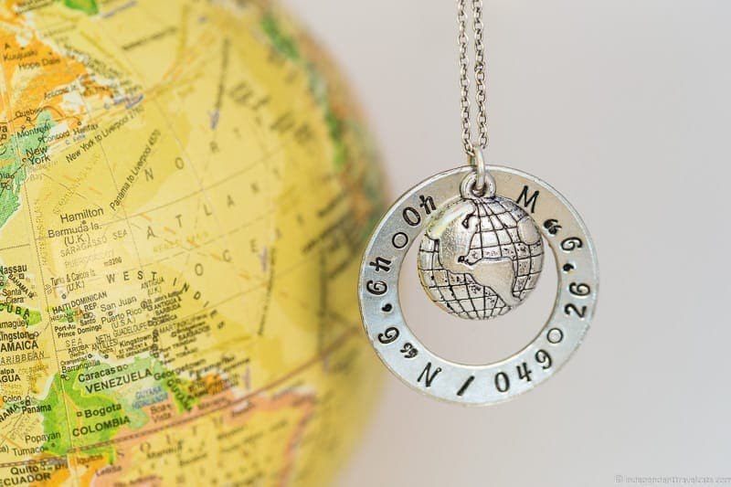 7ab0e55fe41d9 coordinates necklace travel jewelry traveling inspried jewellery