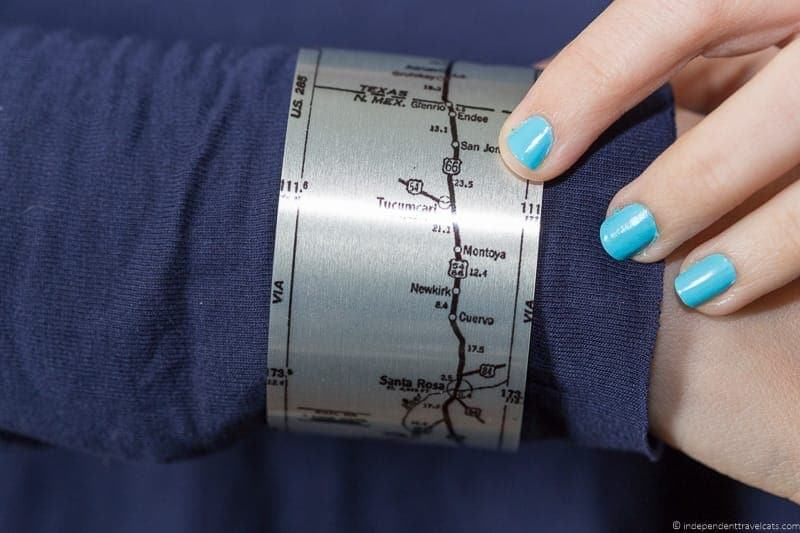 aluminum map bracelets travel jewelry traveling inspried jewellery