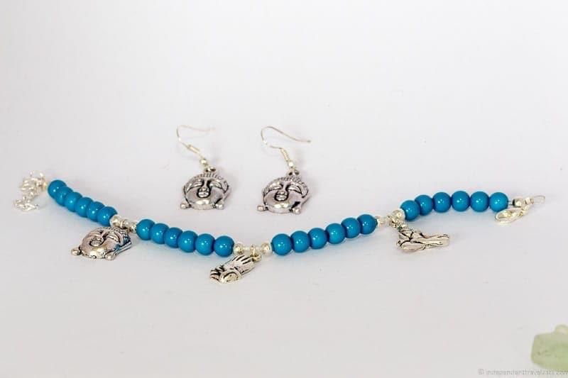 Buddha bracelet travel jewelry traveling inspried jewellery