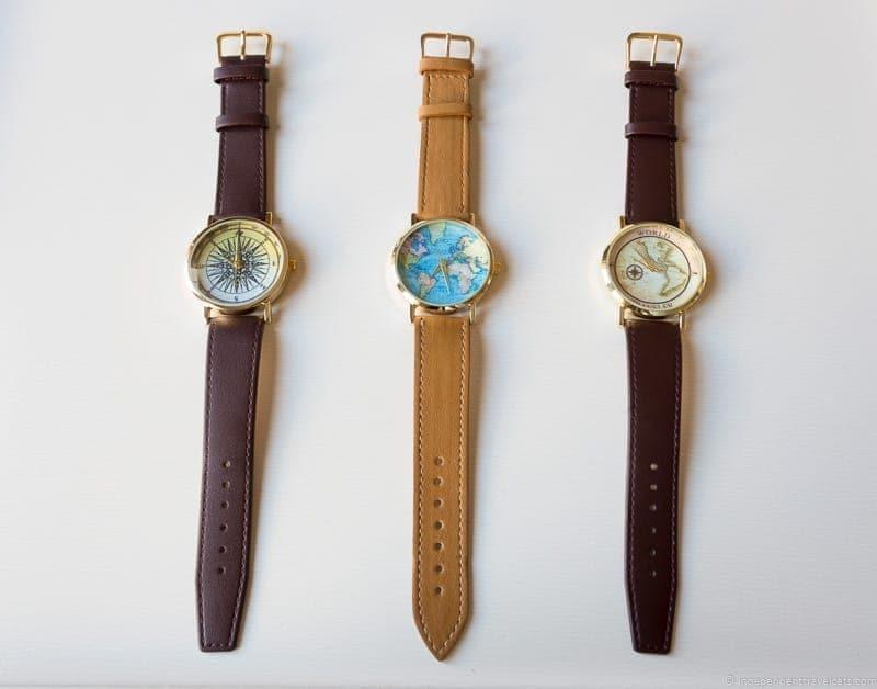 map watch handmade travel jewelry traveling inspried jewellery