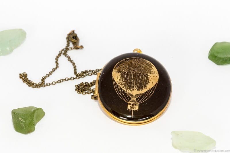 locket necklace travel jewelry traveling inspried jewellery
