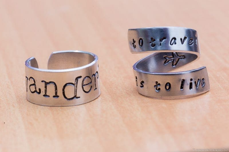 ring wanderlust traveling inspried jewellery