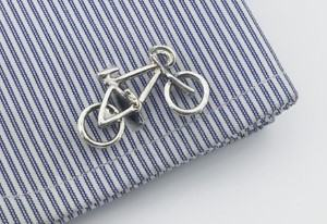 bicycle cufflinks for cyclist gift for cyclists