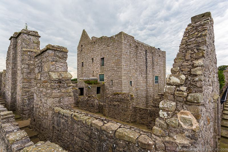 Craigmillar Castle Edinburgh Scotland hidden things to do in Edinburgh Scotland