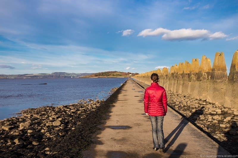 Cramond Island village hidden Edinburgh things to do scotland