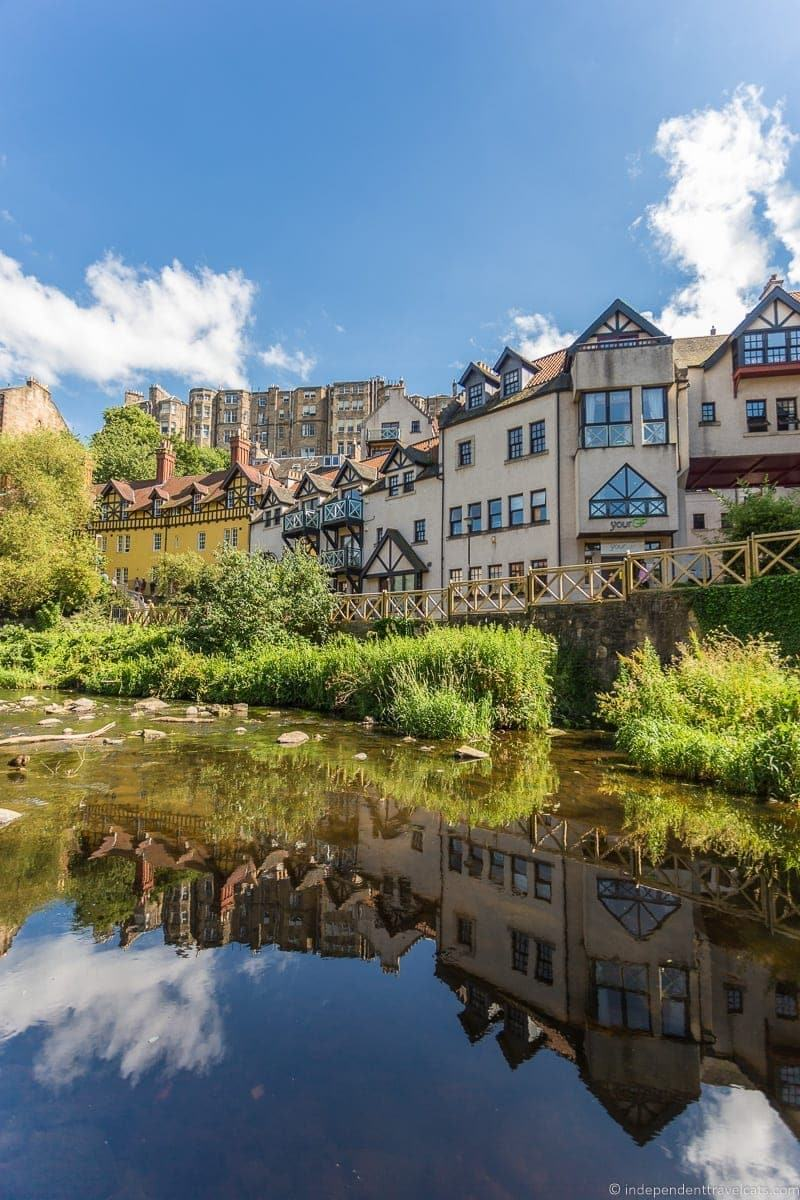 Dean Village hidden top Edinburgh attractions Scotland