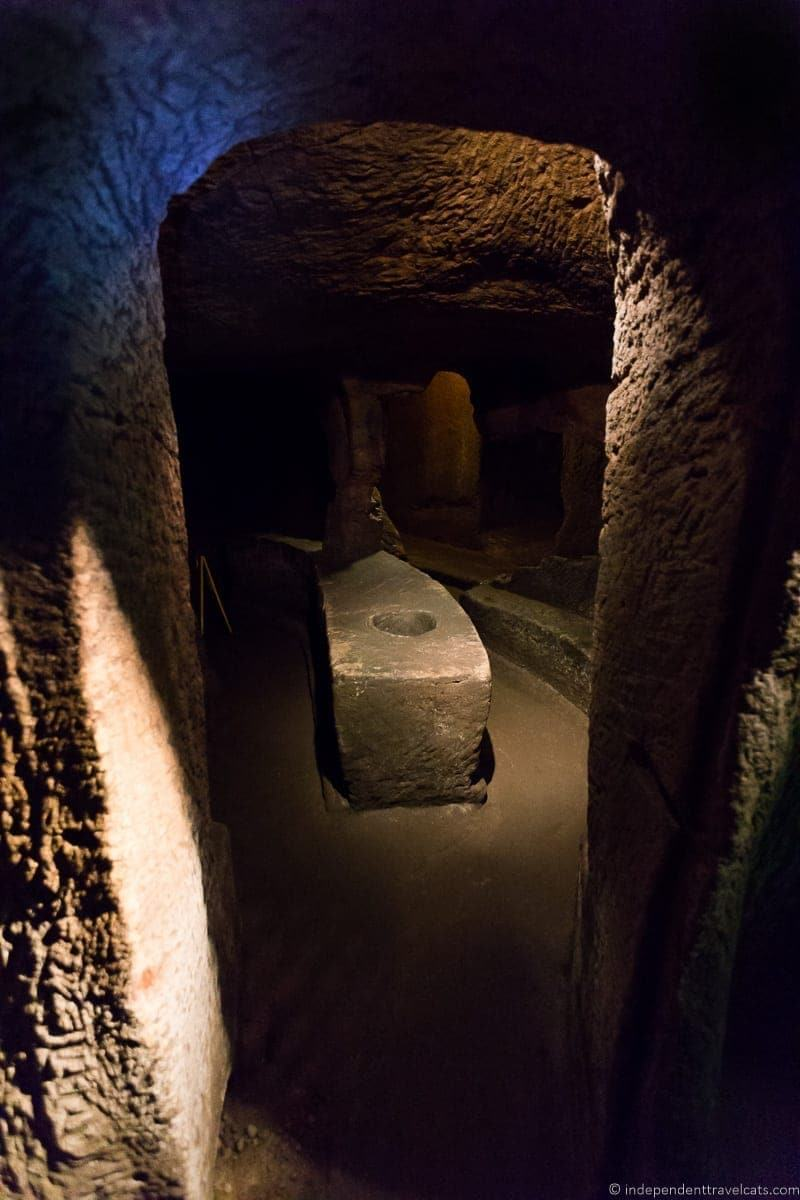 Gilmerton Cove hidden top Edinburgh attractions Scotland