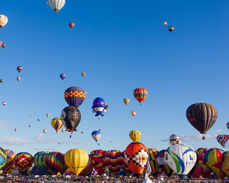 Albuquerque Balloon Fiesta New Mexico hot air balloon festival