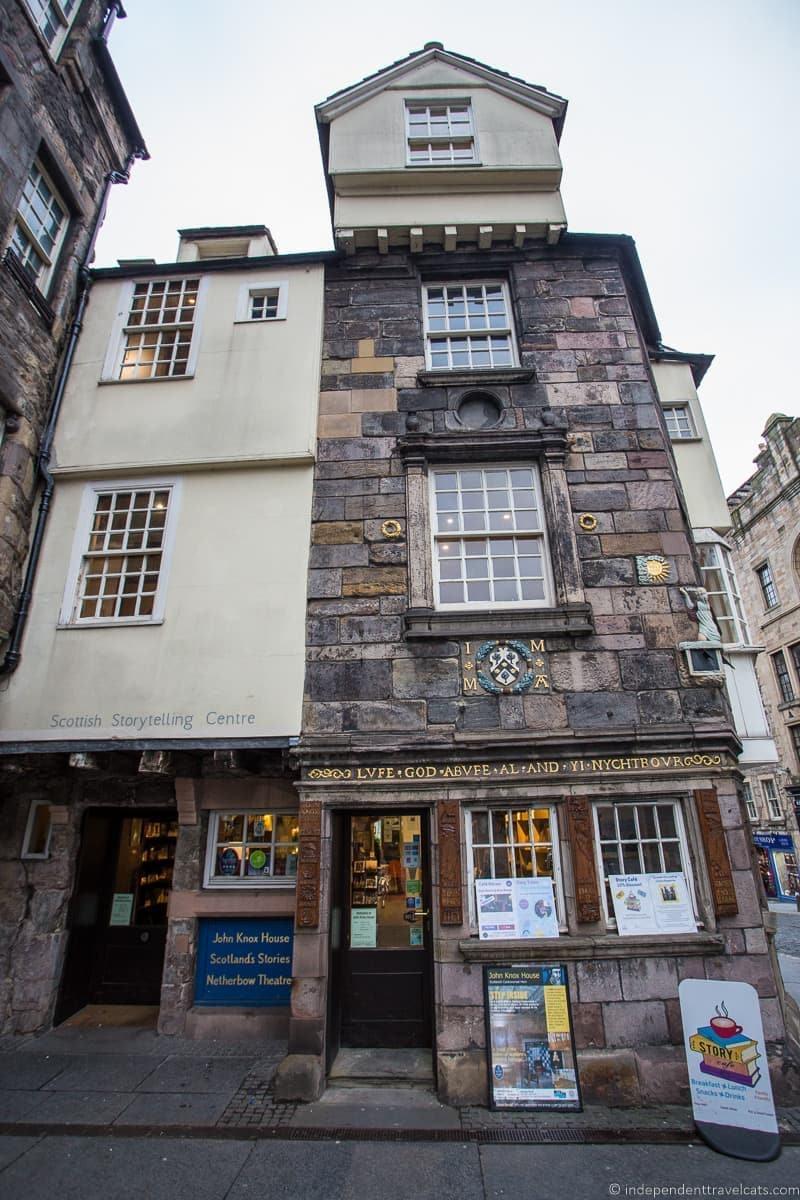 John Knox House hidden top Edinburgh attractions Scotland