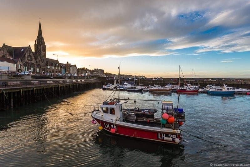 Newhaven Harbor hidden top Edinburgh attractions Scotland