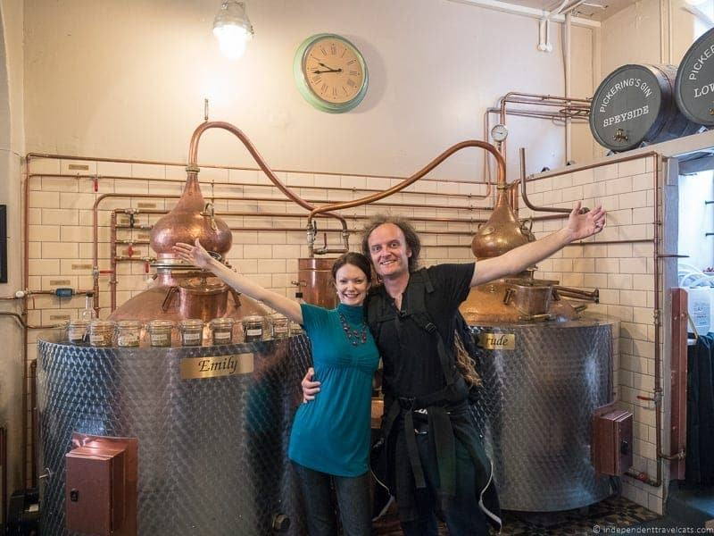 Pickering's gin hidden top Edinburgh attractions Scotland