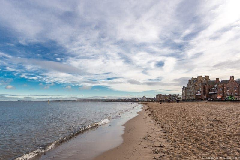 Portobello Beach hidden top Edinburgh attractions Scotland