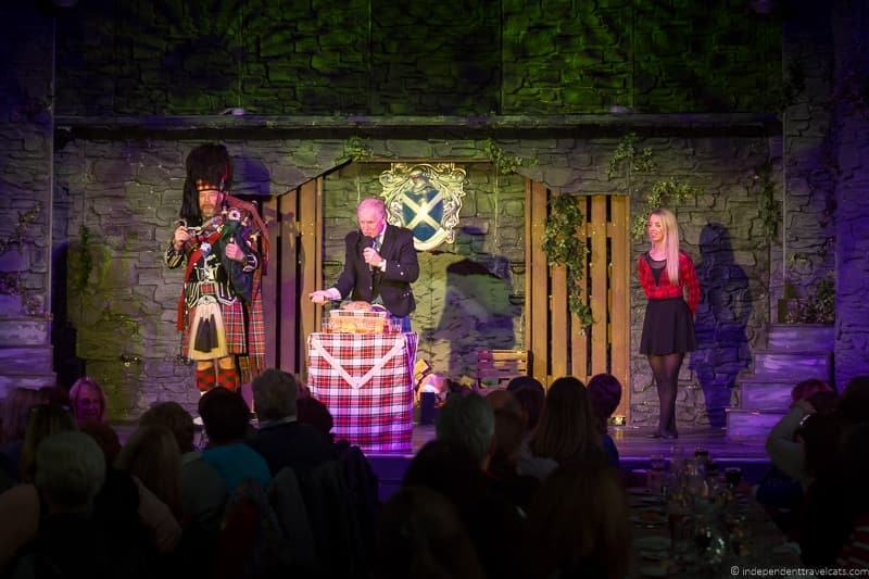Spirit of Scotland show Hidden Edinburgh attractions evening entertainment
