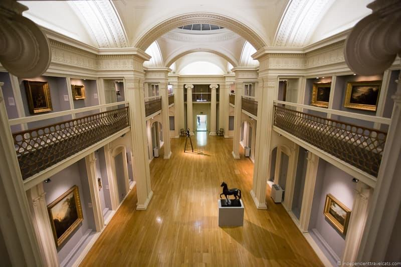 Talbot Rice Gallery hidden Edinburgh lesser known attractions in Scotland
