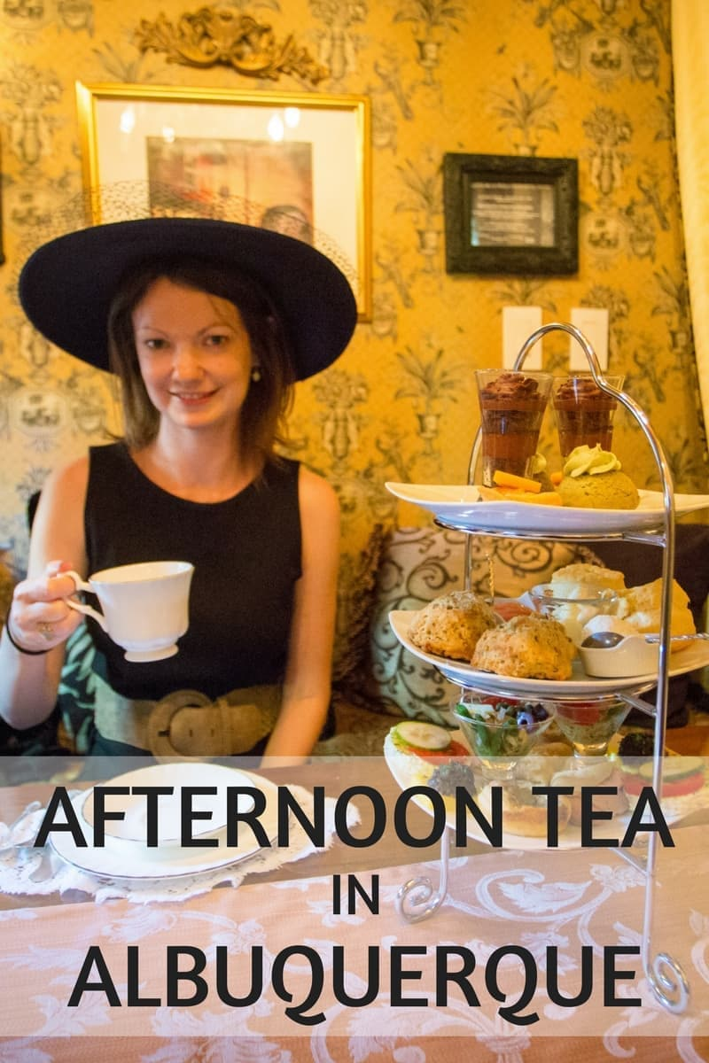 Looking for a great afternoon tea spot in Albuquerque New Mexico? St. James Tearoom is one of my favorite tea rooms in the world and a great place to stop for a formal tea in Albuquerque.