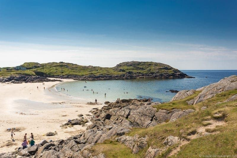 Achmelvich Beach Isle of Skye and Scottish Highlands itinerary trip Scotland