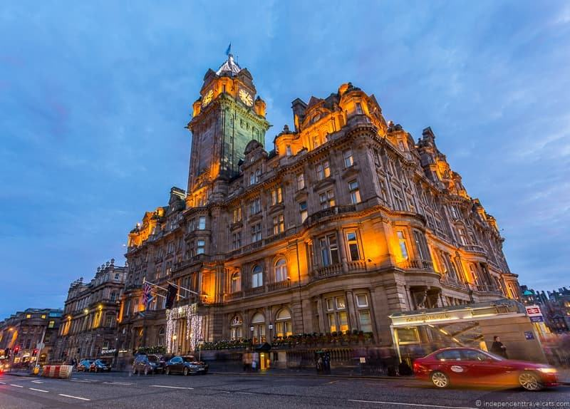 Balmoral Hotel top things to do in Edinburgh highlights