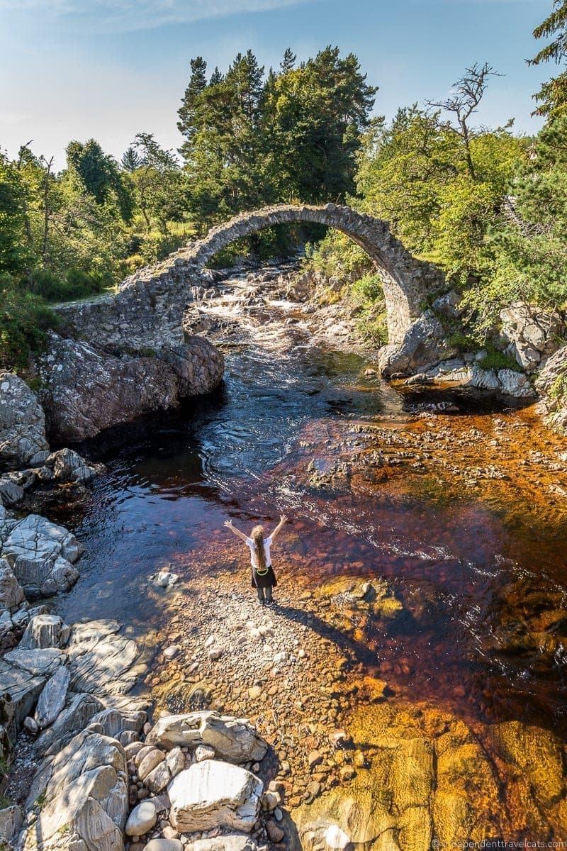 Carrbridge Isle of Skye and Scottish Highlands itinerary trip Scotland