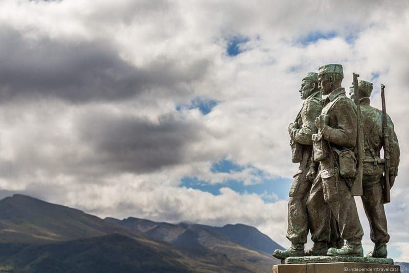 Commando Memorial Isle of Skye and Scottish Highlands itinerary trip Scotland