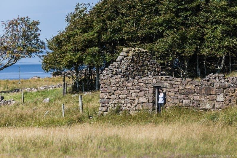 croft house Isle of Skye and Scottish Highlands itinerary trip Scotland