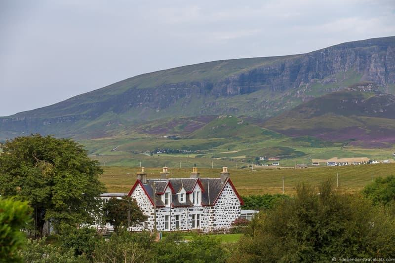 Staffin Isle of Skye and Scottish Highlands itinerary trip Scotland