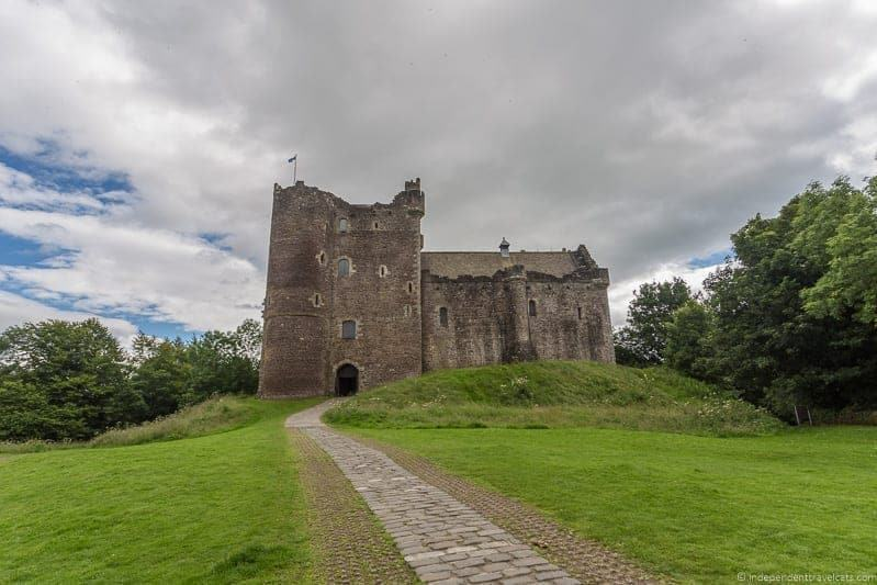 Doune Castle Isle of Skye and Scottish Highlands itinerary trip Scotland