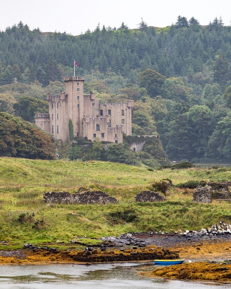 Dunvegan Isle of Skye and Scottish Highlands itinerary trip Scotland