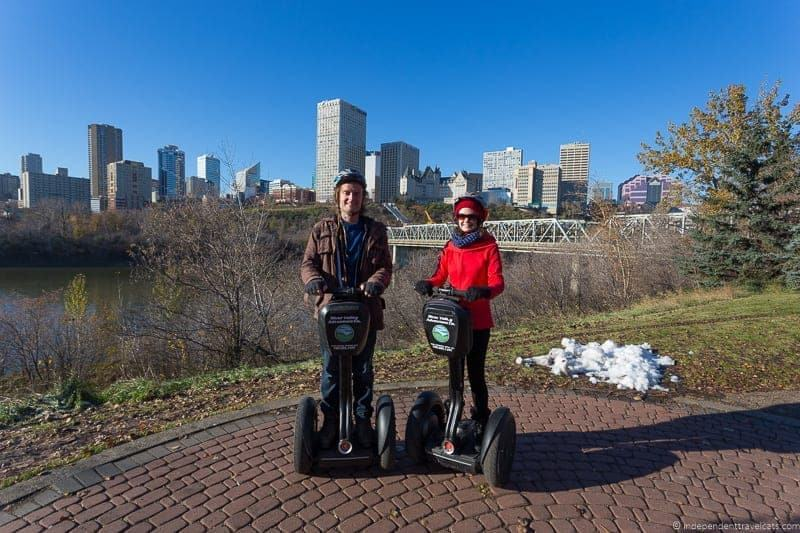 Segway things to do in Edmonton Alberta Yeg guide