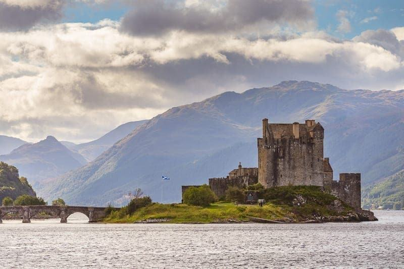 Eilean Donan Castle Isle of Skye and Scottish Highlands itinerary trip Scotland