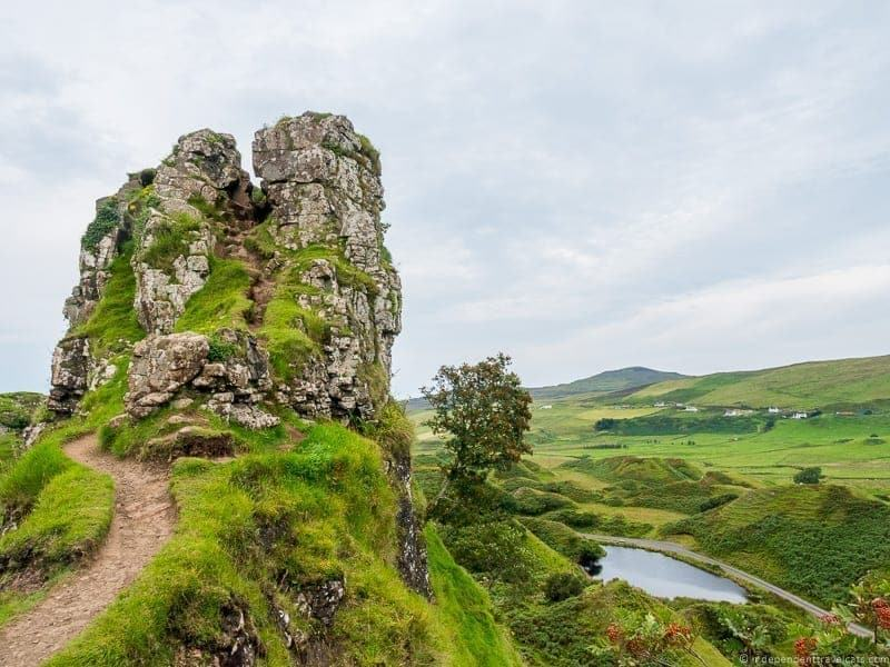 Faerie Castle Isle of Skye and Scottish Highlands itinerary trip Scotland