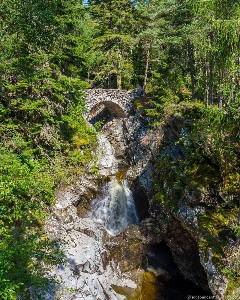 Bruar Falls Isle of Skye and Scottish Highlands itinerary trip Scotland