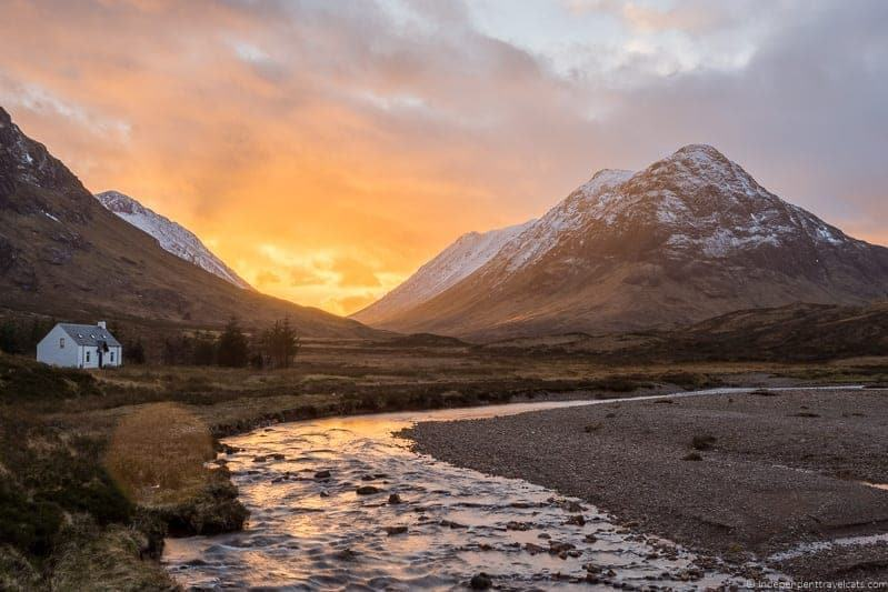 Glencoe Isle of Skye and Scottish Highlands itinerary trip Scotland